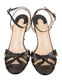 quality design 9d510 f7973 Christian Louboutin Trezuma 85 Leather Sandals - Shoes ...