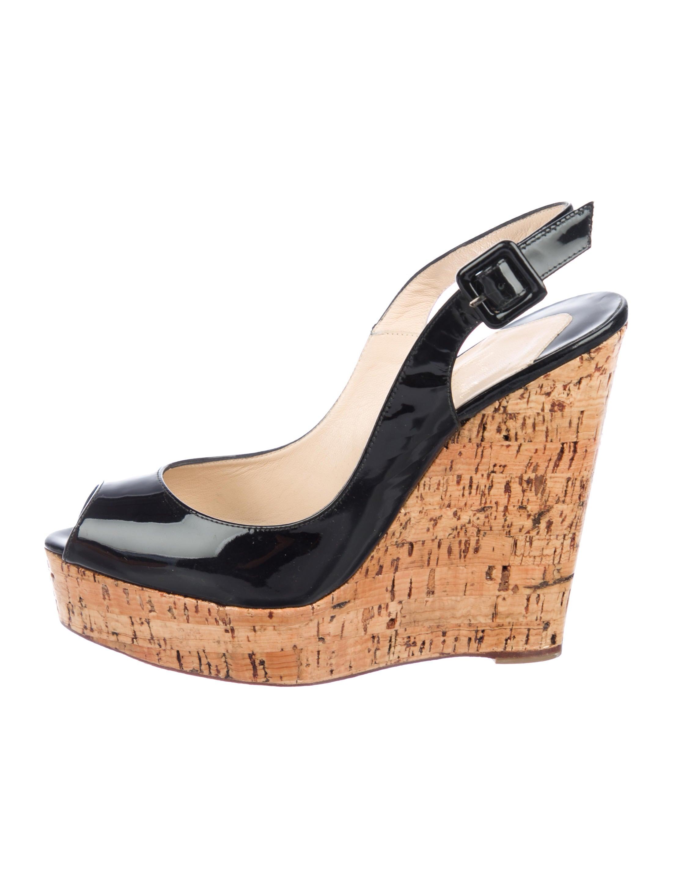 cc1b40e63e2 Christian Louboutin Menorca Espadrille Wedges - Shoes - CHT137482 ...