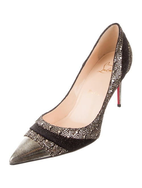 sports shoes 0a2bf c5a2e Christian Louboutin Eklectica 85 Pointed-Toe Pumps - Shoes ...