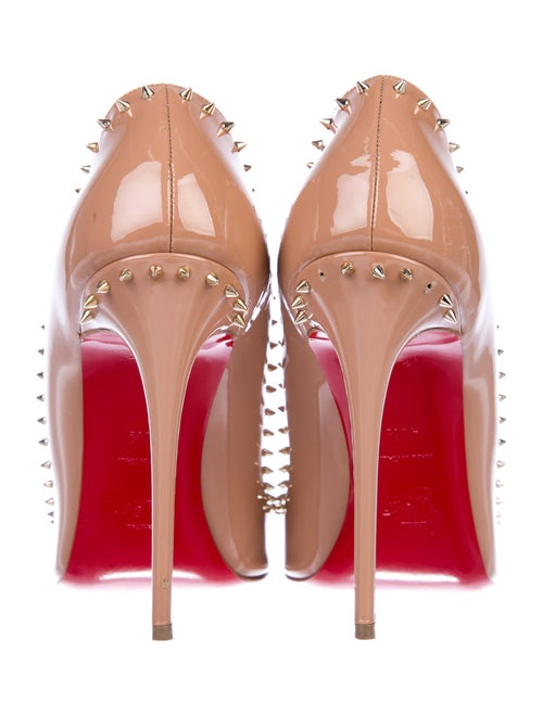low priced 05319 46613 Christian Louboutin Anjalina 100 Patent Pumps - Shoes ...