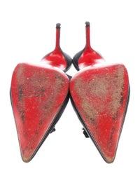 Satin Slingback Pumps image 5