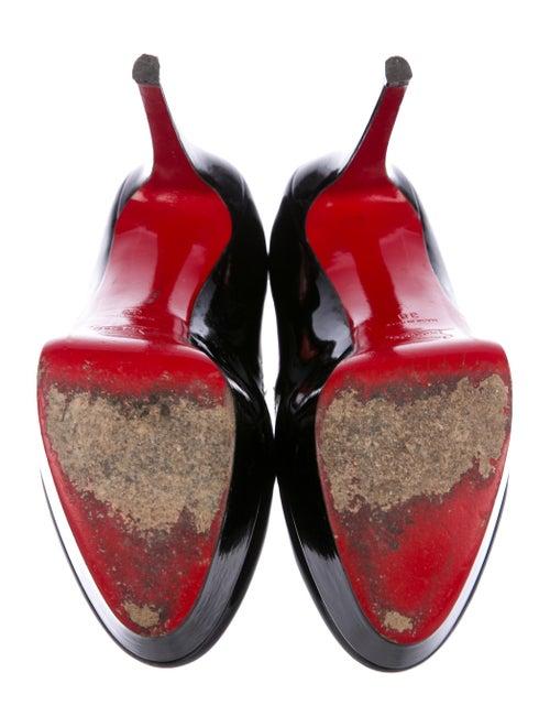 Patent Leather Platform Pumps