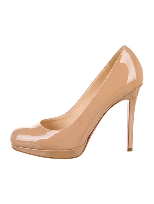 Christian Louboutin New Simple Pumps Patent Leathe