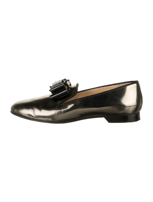 Christian Louboutin Patent Leather Bow Accents Dre
