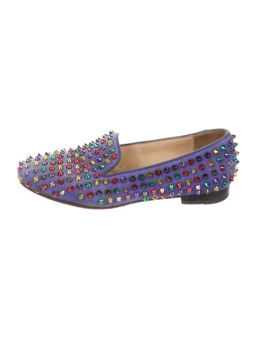 Christian Louboutin Rollerball Spike Accents Loafe