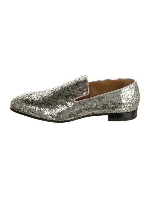 Christian Louboutin Dandelion Leather Loafers Meta