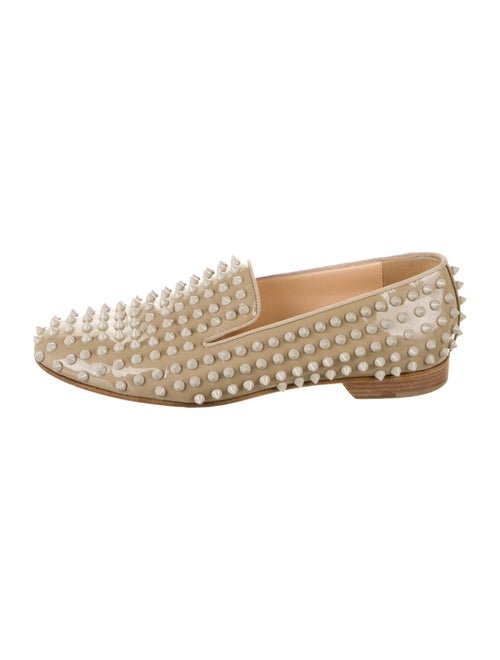 Christian Louboutin Patent Leather Studded Accents