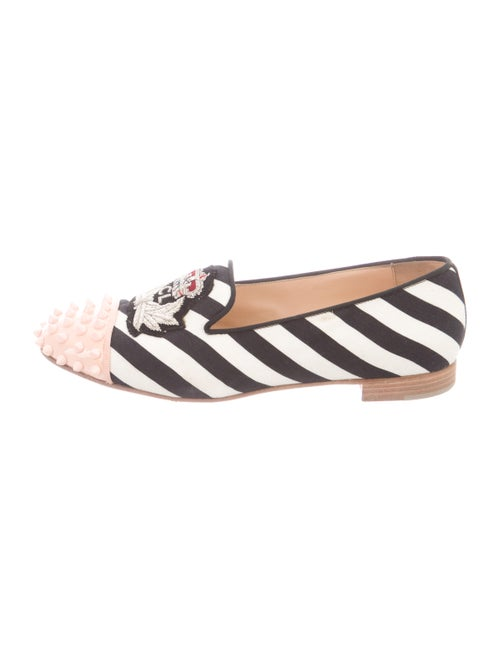 Christian Louboutin Intern Spike Accents Loafers B