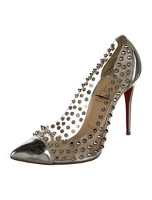 Christian Louboutin Spike Me 120 Studded Accents Pumps