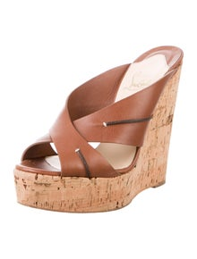 Christian Louboutin Leather Slides