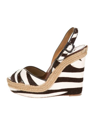 Pony Hair Wedges