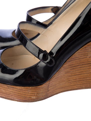 Patent Leather Platforms