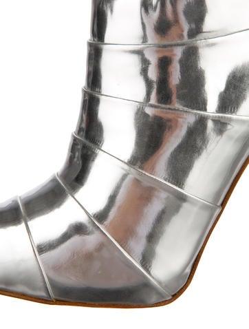 Metallic Booties