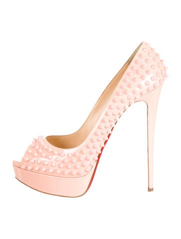 Lady Peep Spike Pumps