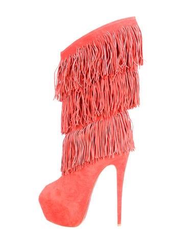 Highness Tina Fringe Boots