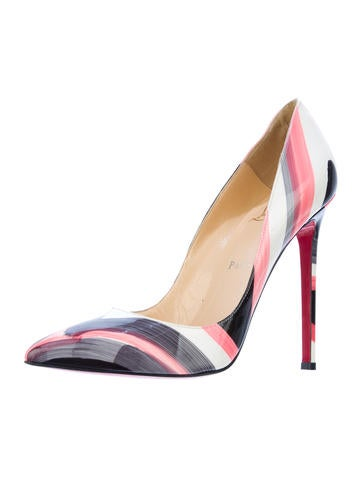 Painted Pigalle Pumps