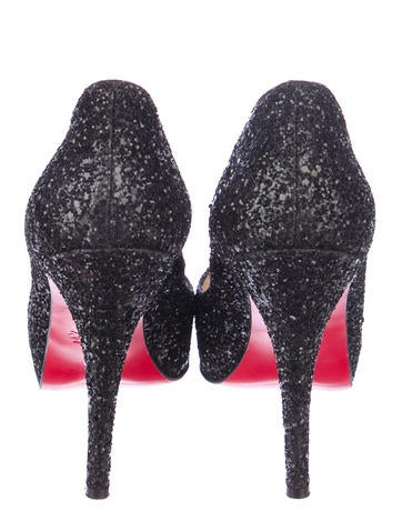 Very Prive Glitter Pumps