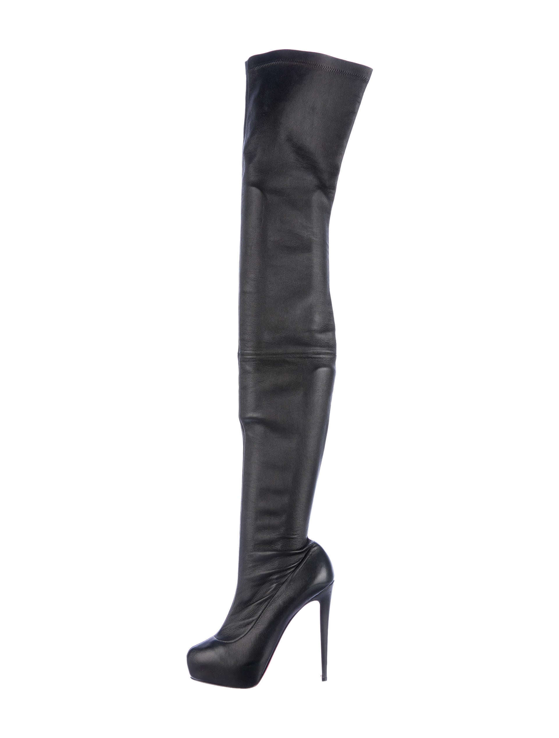 christian louboutin monicarina thigh high boots shoes