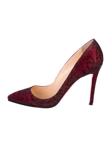 Lace Pigalle 100 Pumps