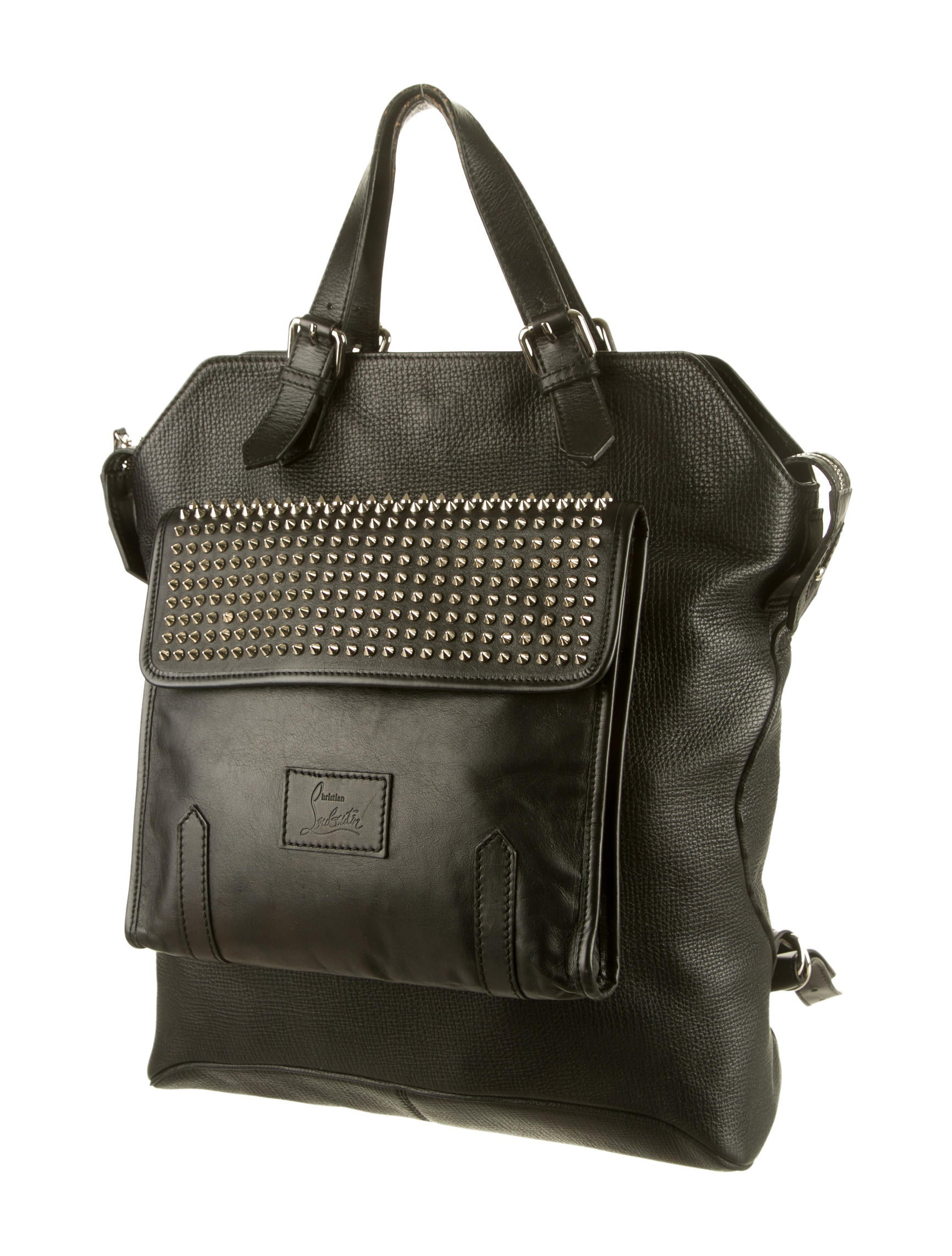 Christian Louboutin Syd Spiked Backpack - Bags - CHT34889 | The ...