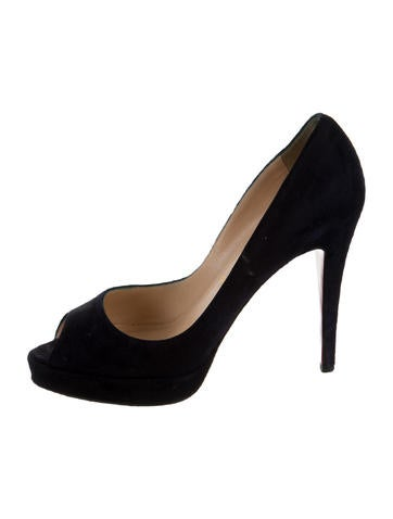 Peep-Toe Platform  Pumps