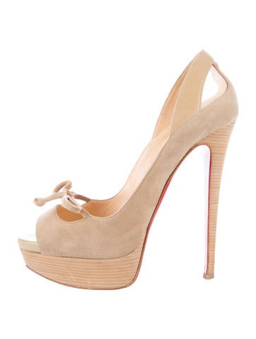 Open-Toe Platform Pumps