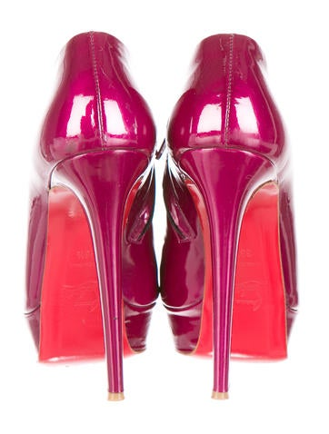 Patent Leather Platform Booties