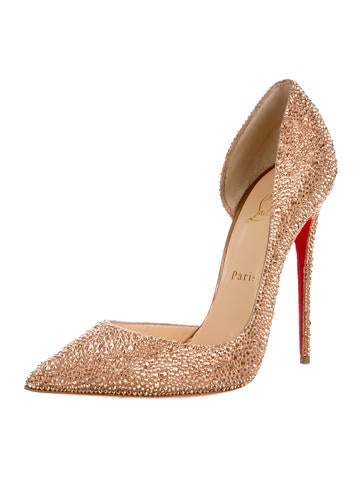 Strass d'Orsay Pumps