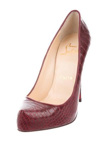 chaussure louboutin a bordeaux