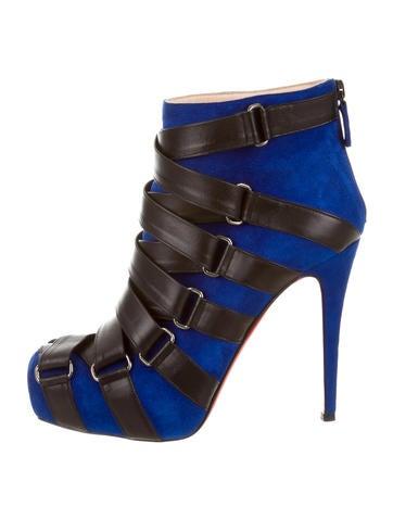 Multistrap Platform Ankle Boots