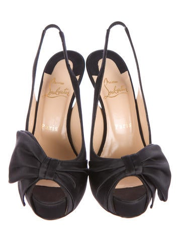 Vendome Sling Crepe Pumps