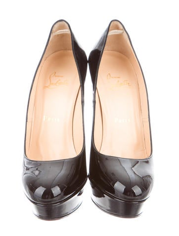 Patent Leather Plaforms Pumps