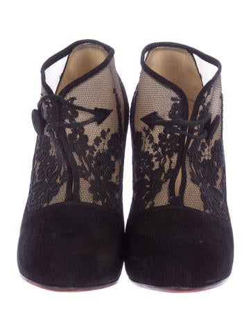 Lace Clic Clac Booties