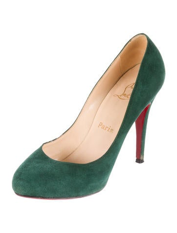 Suede Ron Ron Pumps