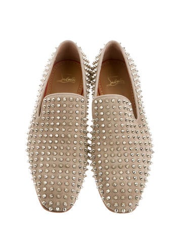 Suede Rollerbboy Spikes Loafers