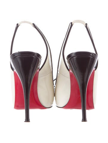 Patent Leather Slingback Pumps