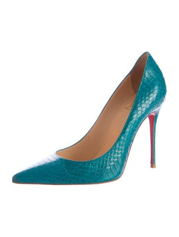 Decollete Watersnake Pumps