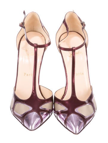Metallic Pointed-Toe Pumps