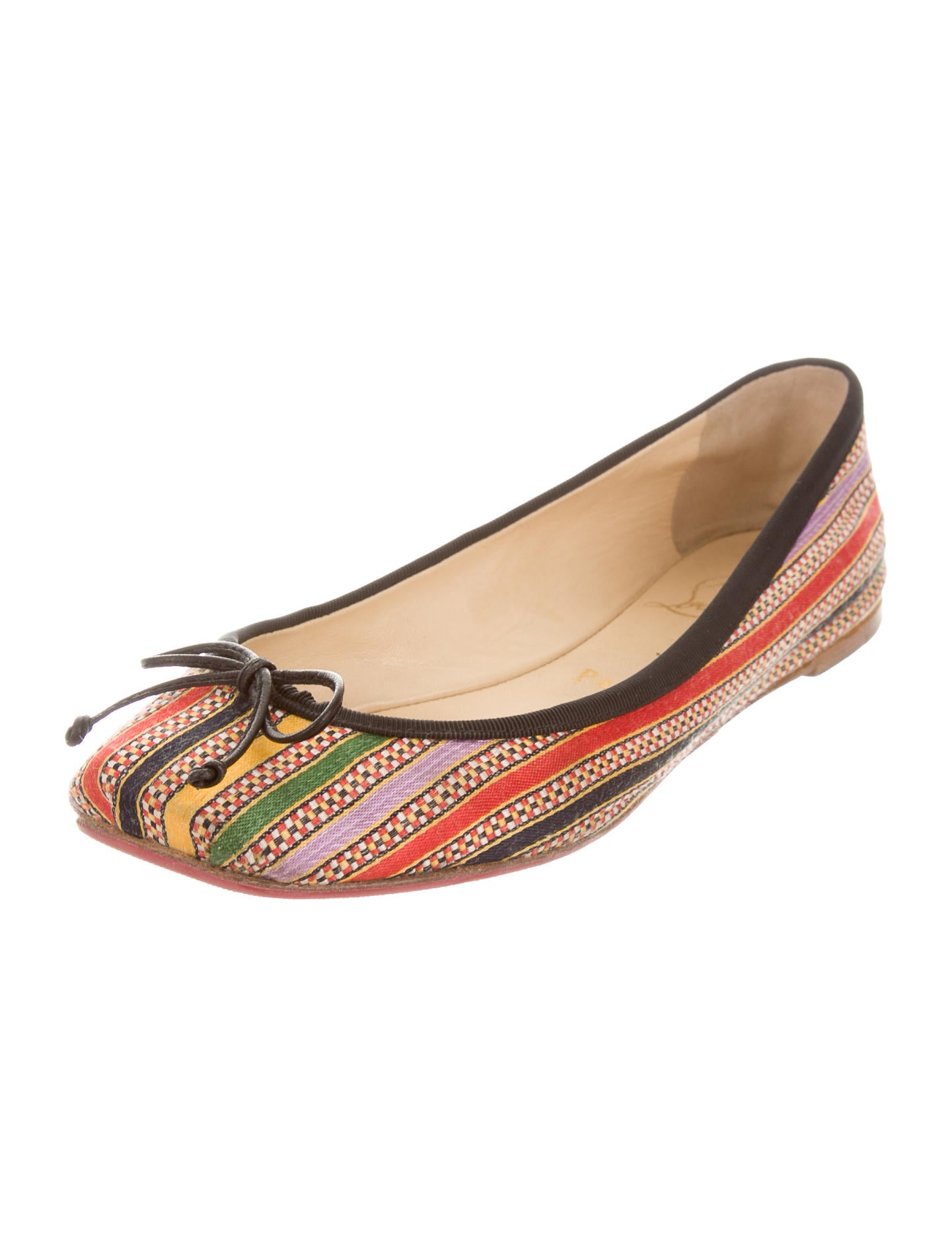 Free shipping BOTH ways on striped flat shoes, from our vast selection of styles. Fast delivery, and 24/7/ real-person service with a smile. Click or call