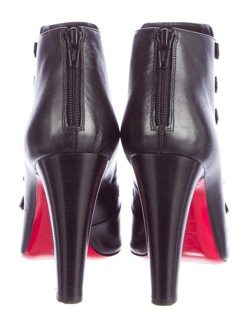445109b62d9a Christian Louboutin Attrroupee Buckle Booties - Shoes - CHT52065 ...