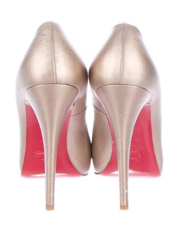 Metallic Rolando 120 Pumps