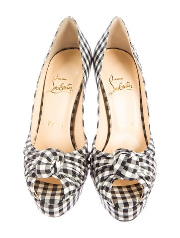 Gingham Greissimo 140 Pumps w/ Tags