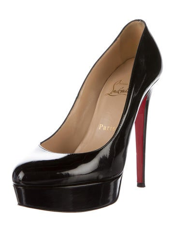 Patent Bianca Pumps