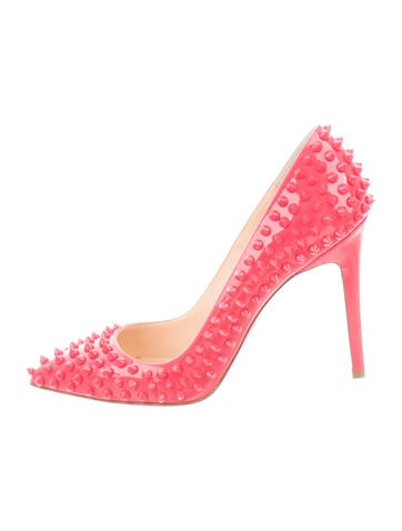 Pigalle 100 Spike Pumps
