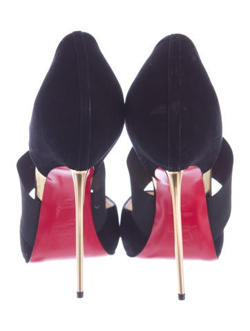 Peep-Toe d'Orsay Pumps