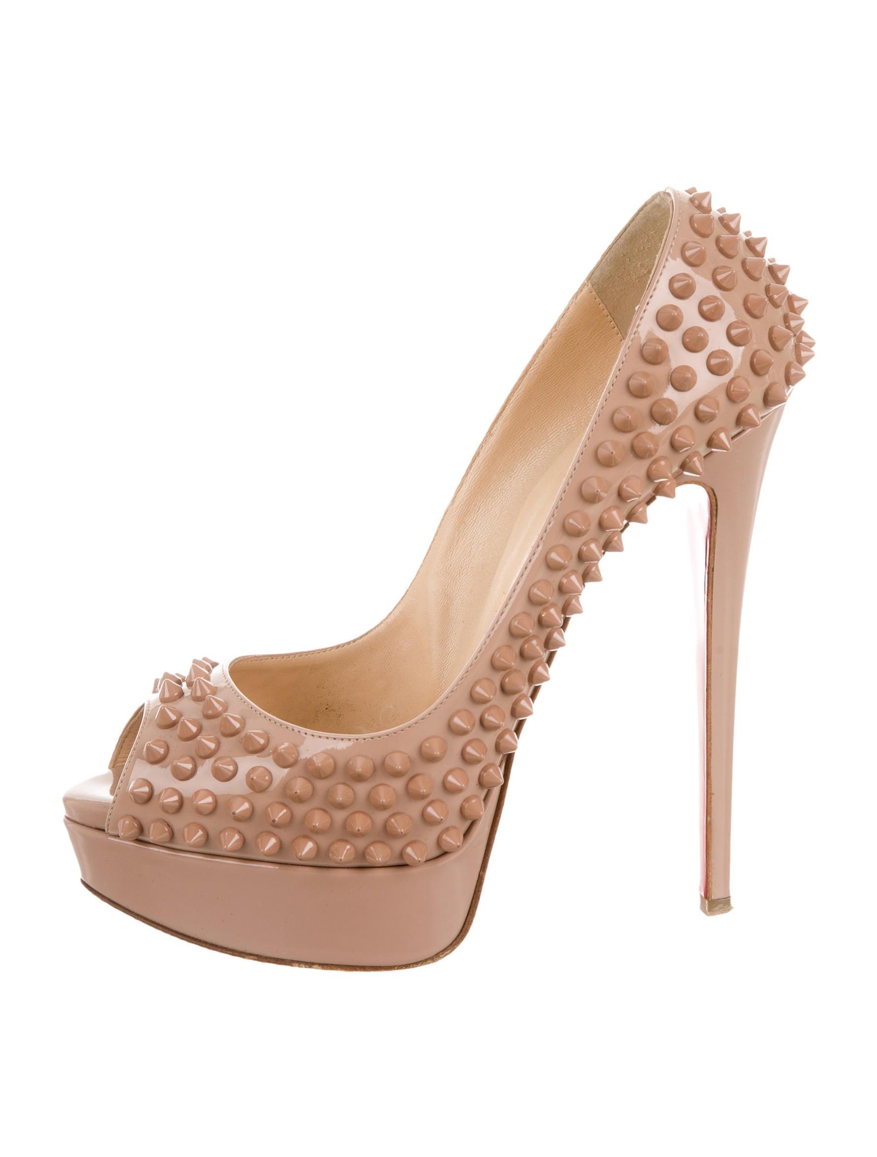 new styles c03db af065 Atlassian CrowdID - Christian Louboutin Cream Heels Quality ...