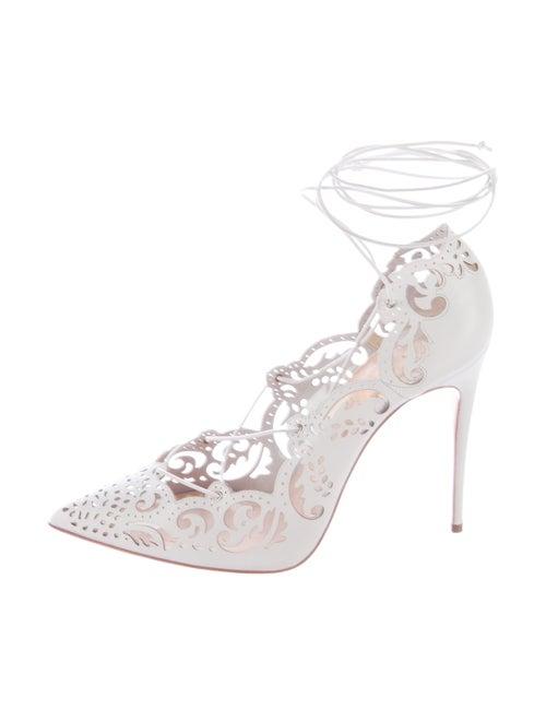 5259e6cebc88 Christian Louboutin Impera Laser Cut Pumps - Shoes - CHT56505