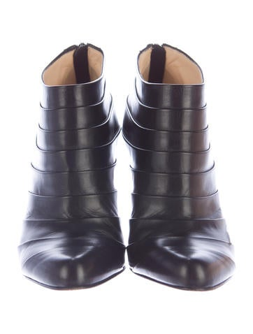 Leather Orniron 100 Booties