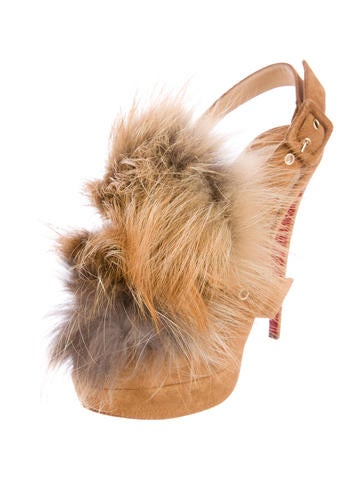 Splash Fur 150 Sandals w/ Tags