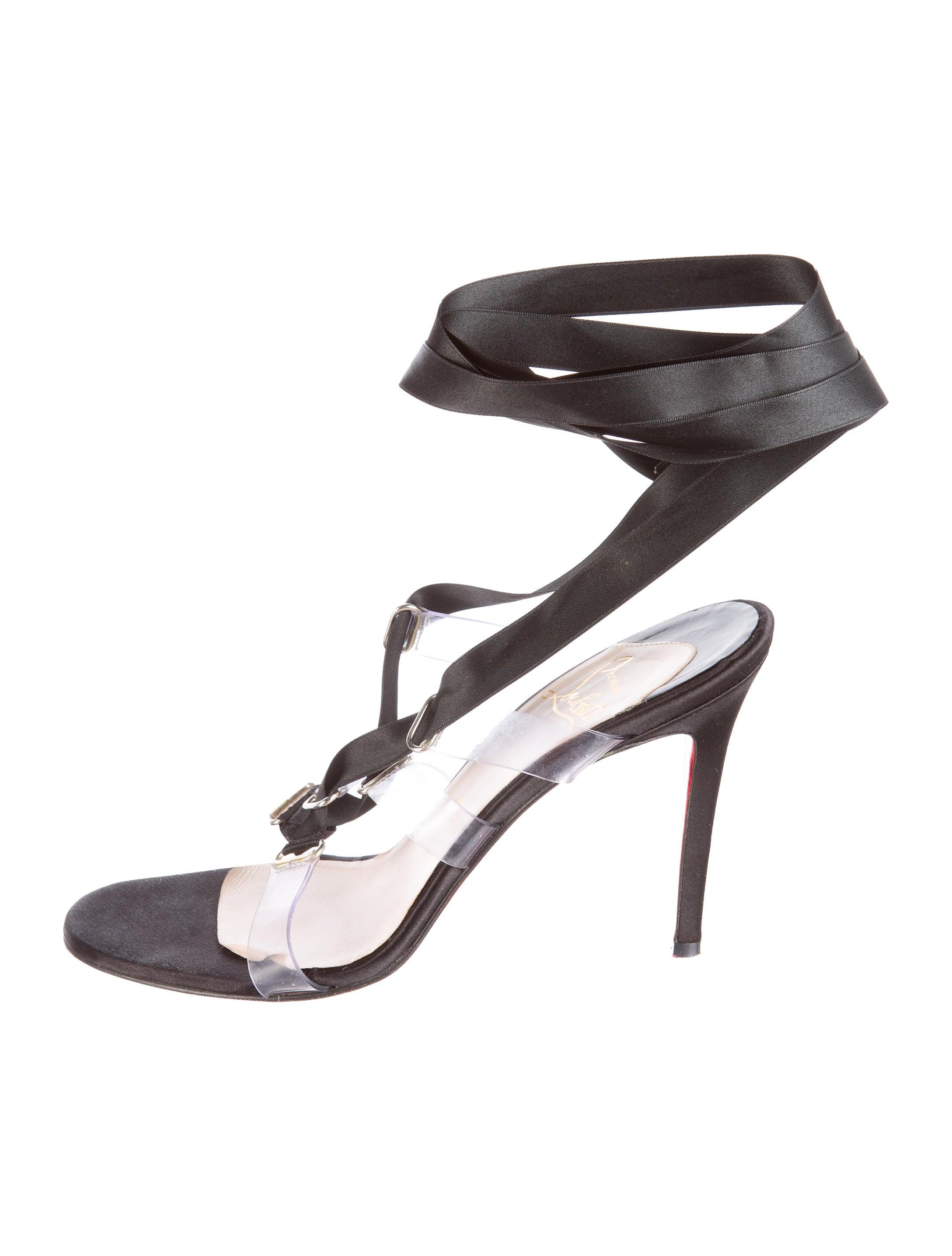 e58f7dba8c4 Nymphette Ribbon Lace-Up Sandals